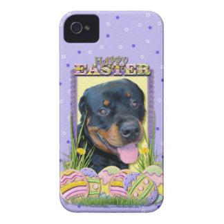 Galletas del huevo de Pascua - Rottweiler - Harley iPhone 4 Carcasas