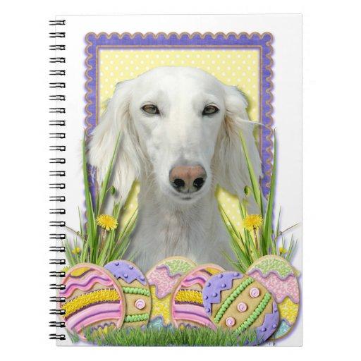 Galletas del huevo de Pascua - Saluki Libro De Apuntes