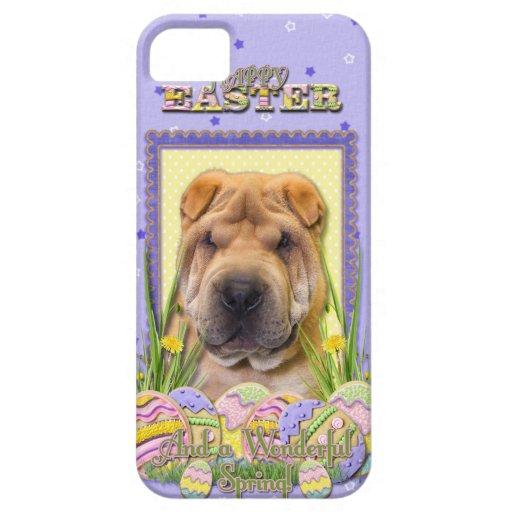 Galletas del huevo de Pascua - Shar Pei iPhone 5 Case-Mate Cárcasas