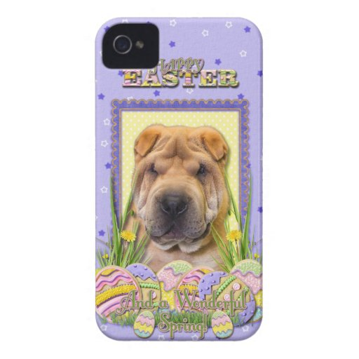 Galletas del huevo de Pascua - Shar Pei Funda Para iPhone 4
