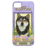 Galletas del huevo de Pascua - Shiba Inu iPhone 5 Case-Mate Carcasa