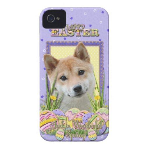 Galletas del huevo de Pascua - Shiba Inu Case-Mate iPhone 4 Coberturas
