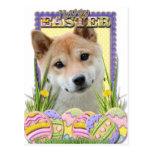 Galletas del huevo de Pascua - Shiba Inu Postal