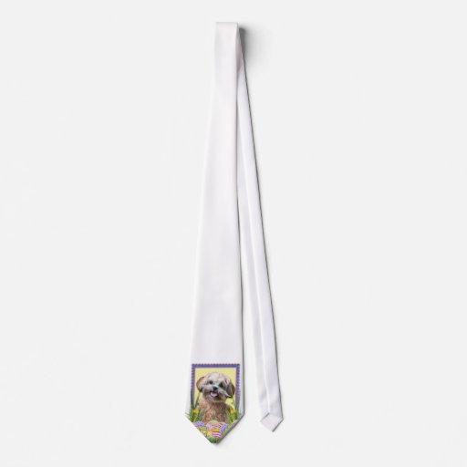Galletas del huevo de Pascua - ShihPoo Corbata Personalizada