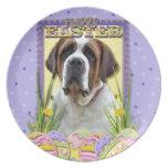 Galletas del huevo de Pascua - St Bernard Plato Para Fiesta