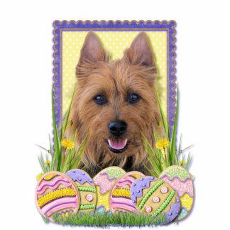 Galletas del huevo de Pascua - Terrier australiano Fotoescultura Vertical