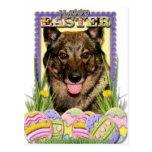Galletas del huevo de Pascua - Vallhund Postal