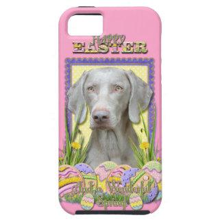 Galletas del huevo de Pascua - Weimaraner iPhone 5 Carcasa