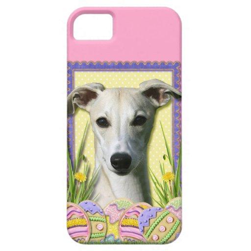 Galletas del huevo de Pascua - Whippet iPhone 5 Case-Mate Cobertura