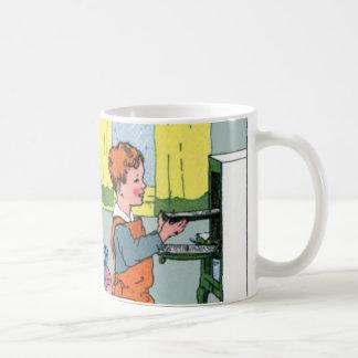 Galletas del leñador de la hornada taza