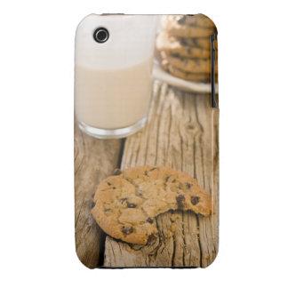 galletas del microprocesador del chocolte funda para iPhone 3 de Case-Mate