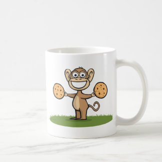 Galletas del mono tazas