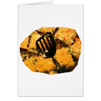 Galletas del Nacho y imagen de la espátula Tarjeta Pequeña