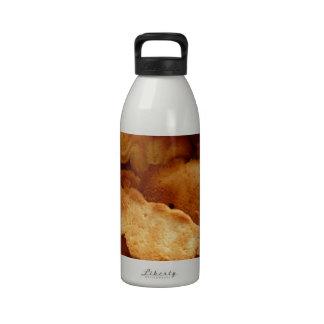 Galletas del navidad botellas de agua reutilizables