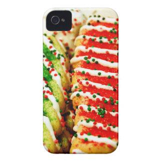Galletas del navidad Case-Mate iPhone 4 protectores