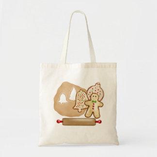 Galletas del navidad de la hornada bolsa