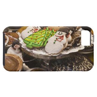 Galletas del navidad en la exhibición en un New iPhone 5 Funda