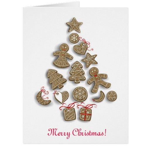 Galletas del navidad felicitaciones