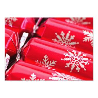 """Galletas del navidad invitación 5"""" x 7"""""""