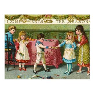 Galletas del navidad tarjeta postal