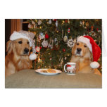 Galletas del navidad tarjeton