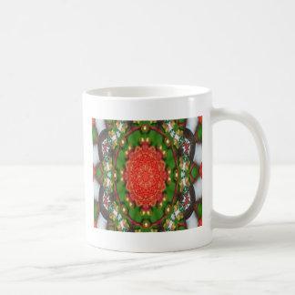 Galletas del navidad taza básica blanca