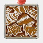 Galletas del pan de jengibre del día de fiesta del ornamente de reyes