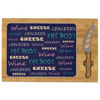 Galletas del queso del vino