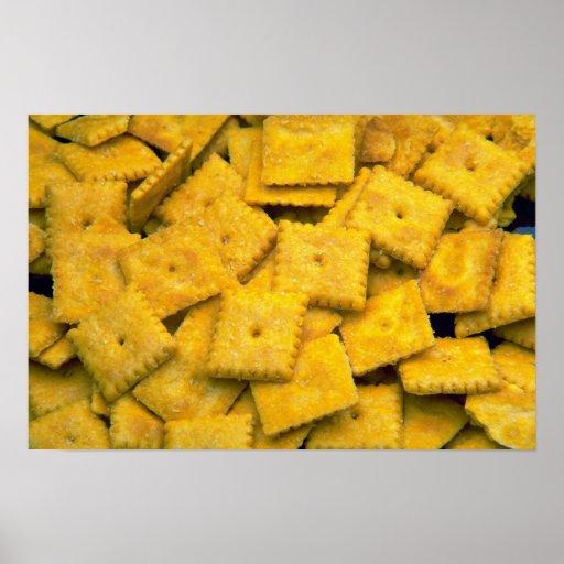 Galletas deliciosas del queso impresiones