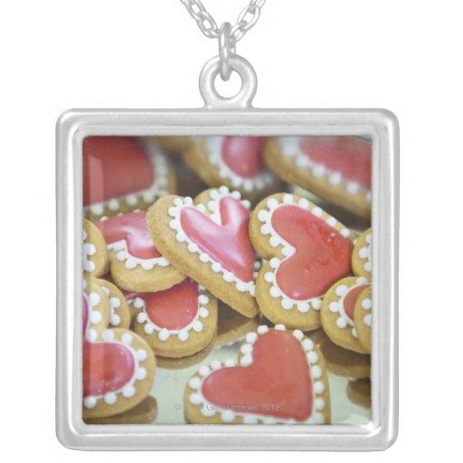 galletas dulces de la tarjeta del día de San Colgante Cuadrado
