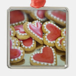 galletas dulces de la tarjeta del día de San Valen Adorno De Navidad