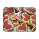 galletas dulces de la tarjeta del día de San Valen Imán Rectangular