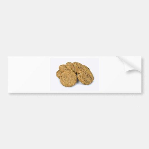galletas etiqueta de parachoque