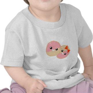 Galletas heladas rosa lindo de Kawaii Camiseta