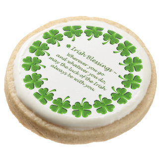 Galletas irlandesas de la Bendición-Torta dulce
