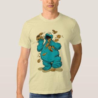 Galletas locas del monstruo de la galleta camisas