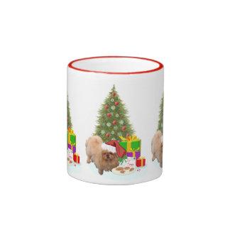Galletas para Papá Noel Taza A Dos Colores