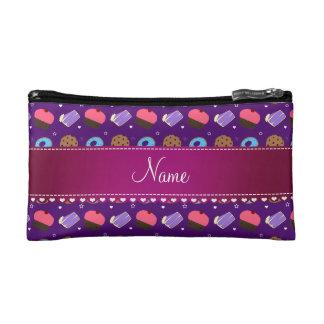 Galletas púrpuras conocidas de la torta de los