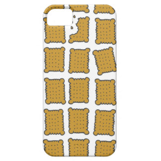 galletas rectangulares funda para iPhone 5 barely there