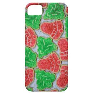 Galletas rojas y verdes del navidad iPhone 5 fundas