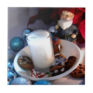 Galletas y gnomo I de la leche Tejas Ceramicas