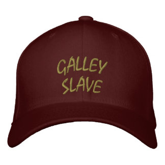Galley Slave Hat Embroidered Hats