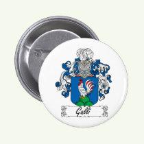 Galli Family Crest Button