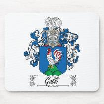 Galli Family Crest Mousepad