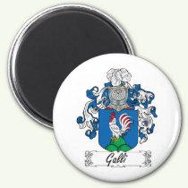 Galli Family Crest Magnet