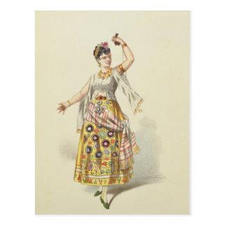 Galli Marie in the role of Carmen Postcard