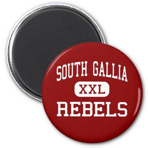 Gallia del sur - rebeldes - alto - ciudad Ohio de  Imán