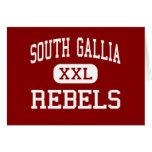 Gallia del sur - rebeldes - alto - ciudad Ohio de  Tarjeta