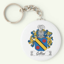 Galliani Family Crest Keychain