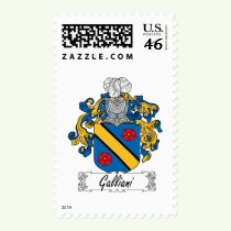 Galliani Family Crest Stamps